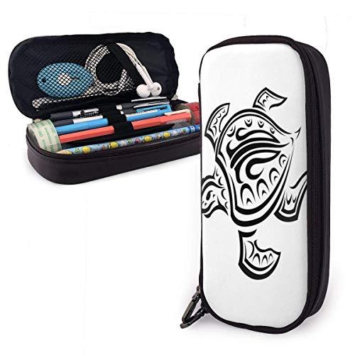 Zipper Pencil Pouch,Bolso De Escritorio Blanco De La Tortuga Hawaiana, Bolsos Superiores...