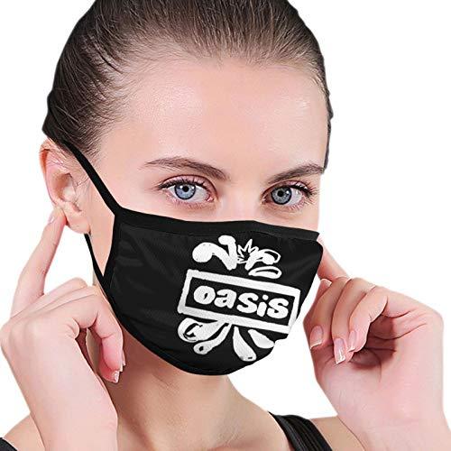 ghjkuyt412 Oasis Band Nahtloser Staubdichter Schal Bandana Gesichtsbedeckungen Wiederverwendbarer Schal