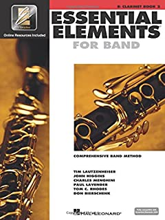 Essential Elements for Band - Book 2 with Eei: BB Clarinet