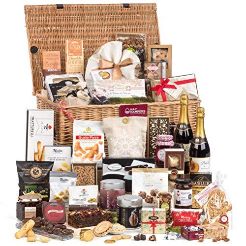 Hay Hampers Alcohol-Free Veritable Feast Large Gift Hamper Basket - Free UK Delivery