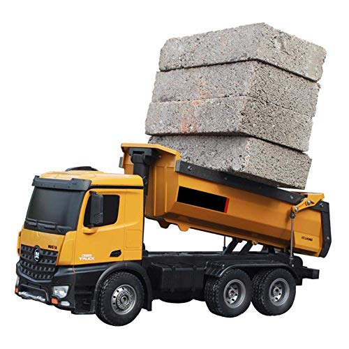 Tree on Life 1573 114 10CH Alloy RC Dump Trucks Ingeniería