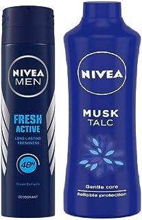Nivea Fresh Active Deodorant (Active Deo + Musk Talc)