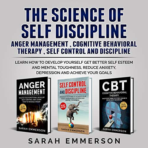 The Science of Self Discipline cover art