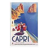 Vintage Travel Capri Europe Poster – Die beste und