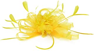 Best yellow feather hair clip Reviews