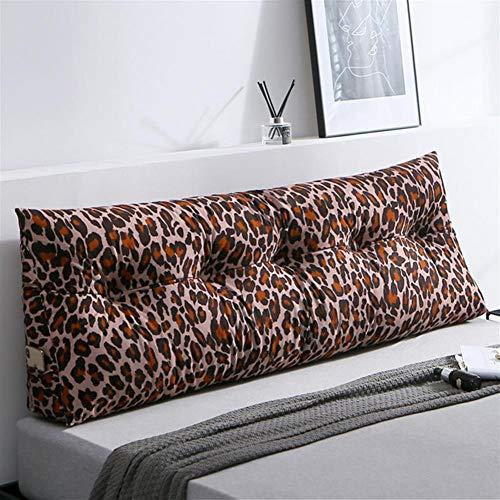 Gestoffeerde driehoekige wig kussen, Sofa bed kussen Kussen Bedrust Reading kussen rugleuning positionering ondersteuning kussen, lumbale pad voor kantoor slaapbank,A,180×50×20cm(71×20×8