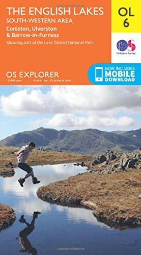 OS Explorer Map: OL6 The English Lakes – South Western area from Ordnance survey