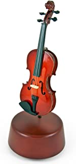 Prestigious 18 Note Miniature Classical Violin with Rotating Musical Base - Over 400 Song Choices - Tales from The Vienna WoodsListen 1st