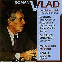 ロマン・ヴラド:1十二音練習曲(1943-57)、2ショパン後期のマズルカによる変奏曲(1954)、3変奏による変奏曲「夢見る夢」(1972)、4空は空っぽ(1952-53)
