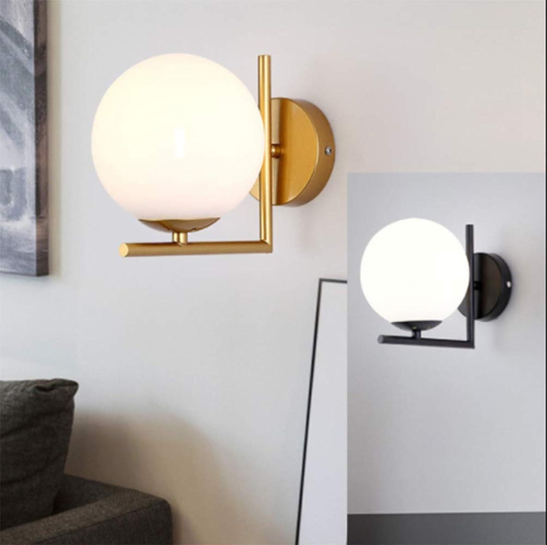 Moderne minimalistische Wohnzimmer TV Wand Gang Korridor Treppe Schlafzimmer Nachtbeleuchtung E27 220 (V),schwarz