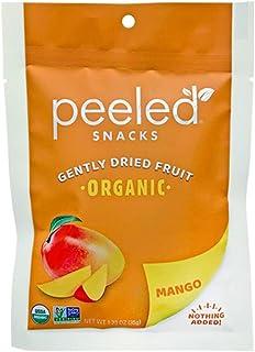 Peeled Snacks Organic Dried Fruit, Mango, 1.23 Ounce (Pack of 10)