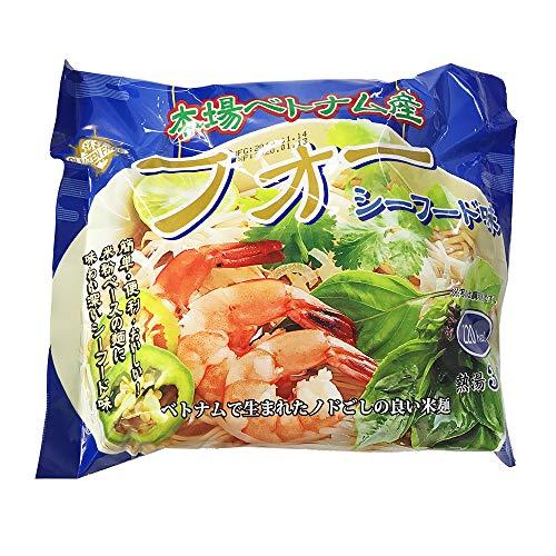インターフレッシュ フォー(米粉麺)シーフード味 袋麺 60g×10袋