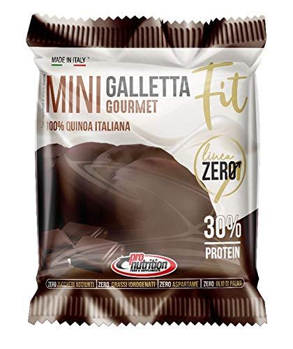 MINI GALLETTA FIT Gourmet [BOX DI 12 SACCHETTI DA 36 GRAMMI] (CIOCCOLATO FONDENTE)