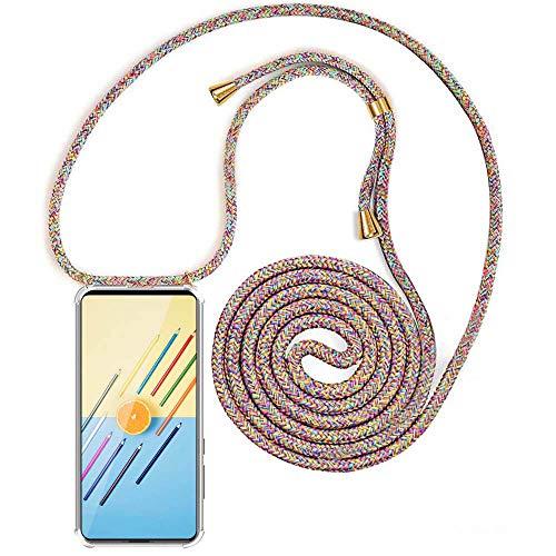XCYYOO Carcasa de movil con Cuerda para Colgar Samsung Galaxy A30S/ A50S -Funda para iPhone/Samsung/Huawei con Correa Colgante para Llevar en el Cuello -Hecho a Mano en Berlin