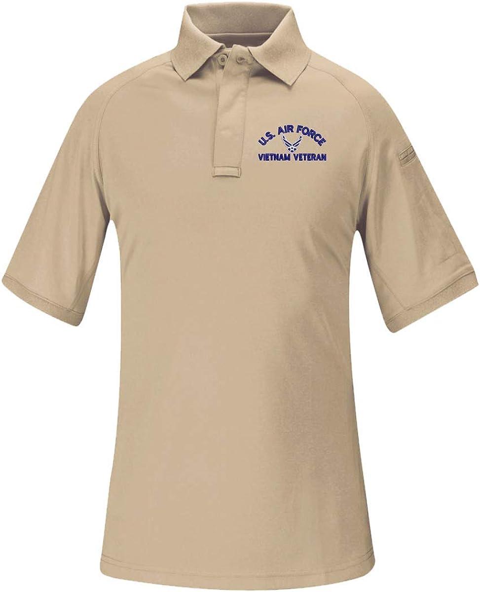 U.S. Air Force Hap Arnold Wings Vietnam Veteran Women's Snag Free Tactical Polo Shirt