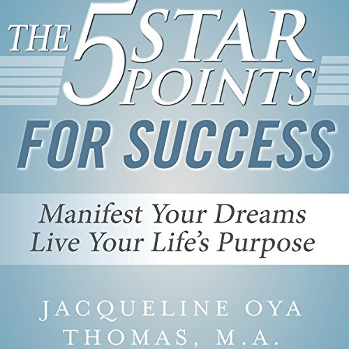 The 5 Star Points for Success audiobook cover art