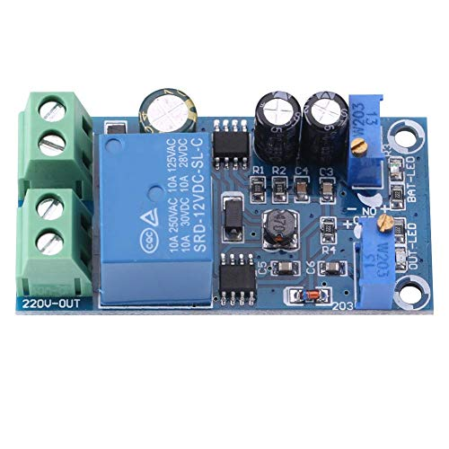 Akozon Batterieladegerät Modul Platine Automatisches Batterieladegerät Ladegerät Controller Schutzmodul 12-24V Ladegerät Entladung Board Modul(24V)