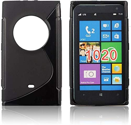 Outlier Back Cover for Microsoft Lumia 1020 (Black, Rubber)