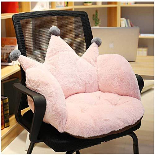 Verdickte Stühle Sitz Matratze Kissen Sitz Wohnmöbel Protector Fall Crown Design Office Sessel Kissen