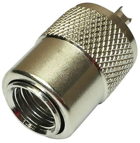 AERZETIX - C11347 - Stecker Buchse - UHF - PL-259 - Männlich - für Kabel RG213