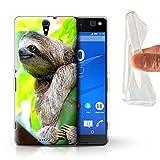 Hülle Für Sony Xperia C5 Ultra Wilde Tiere Faultier