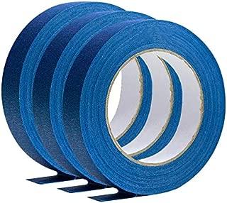 LARRY-X Cinta de enmascarar Azul, Baja adherencia de residuos, Cinta de Pintor Azul Profesional para Todos los proyectos de Bricolaje y Pintura Profesional