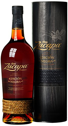 Zacapa Ron Centenario Edicion Negra Solera Gran Reserva Rum mit Geschenkverpackung (1 x 1 l)