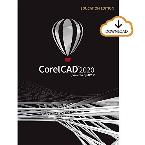 CorelCAD 2020 | Design and Drafting Software | Education Edition [PC Download]
