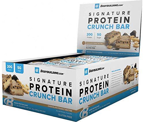 Bodybuilding Signature Protein Crunch Bar | Amazon