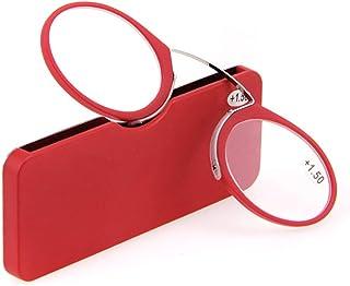 9b73d6093e PANGHU Gafas de lectura sin patillas graduadas transparentes. Gafas de  presbicia para hombre y mujer