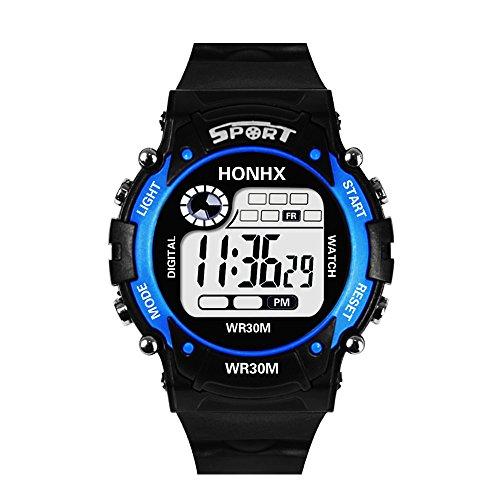 Cramberdy Uhr Herren Armbanduhr Herren Mode Digitaler Jungen Armbanduhr Männer Sport Armbanduhr Fitness Armbanduhr Sportuhr Digitaluhr
