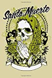 Dotted Line Notebook: Santa Muerte | Tattoo Artist Notebook | 120 Pages 6x9 in | Pretty Notebook for Graphing Pad, Design Book, Work Book, Planner, Journal, Sketch Book, Writing Book