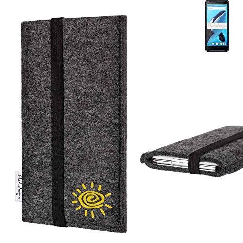 flat.design vegane Handy Tasche Coimbra für Energizer Hardcase H570S Sonne