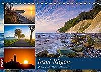 Insel Ruegen - Meine wilde Ostsee-Romanze (Tischkalender 2022 DIN A5 quer): Traumhafte Landschaften der groessten Insel in Deutschland (Monatskalender, 14 Seiten )