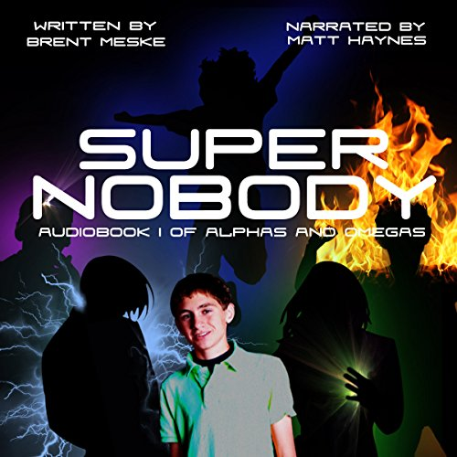 Super Nobody audiobook cover art