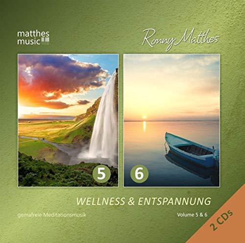Wellness & Entspannung, Vol. 5 & 6 - Gemafreie christliche Meditationsmusik & Entspannungsmusik (inkl. Tiefenentspannung & Einschlafhilfe)