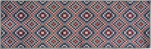 Coryl Amerindien Tapis, Fibres Polyamide, Multicolore, 150 X 50 cm