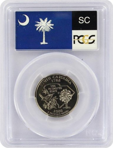 2000 South Carolina S Clad Proof State Quarter PR-69 PCGS