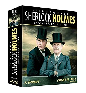 Sherlock Holmes - L'intégrale - Coffret 10 Blu-ray (B00D82H7MQ) | Amazon price tracker / tracking, Amazon price history charts, Amazon price watches, Amazon price drop alerts