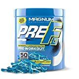 Magnum Nutraceuticals PRE FO Workout Powder (50 Servings) Blue Shark