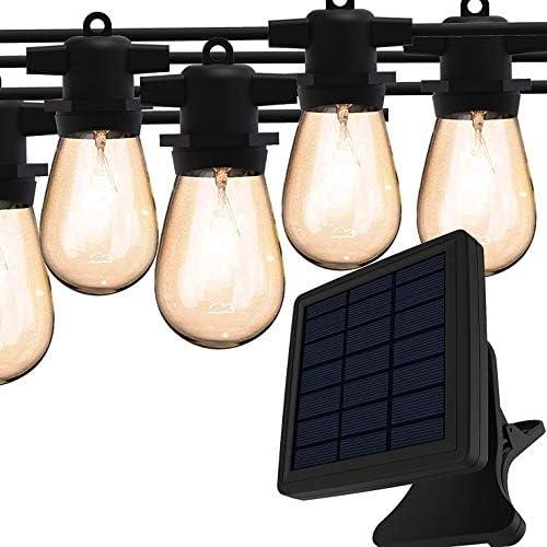 Solar String Lights Magictec LED S14 Solar String Light Outdoor Waterproof Lighting Decoration product image