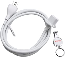 """WESAPPINC Replacement US Plug Extension Cable for Apple iMac G5 20"""" 21.5' 24"""" 27"""" Power Supply Cord"""