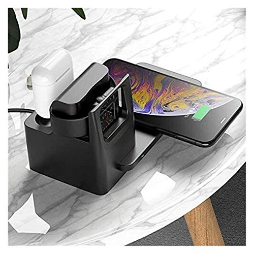 HCCHZR 3 in 1 Wireless Charger Fit Cell Phone Stand