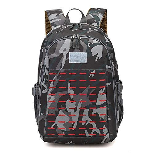 Zaino tattico militare mimetico esterno impermeabile resistente agli strappi arrampicata borse escursionismo campeggio viaggio laptop zaino, Tipo 3.,
