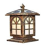 Lámpara de Columna de Iluminación Exterior Con mando a distancia al aire libre...