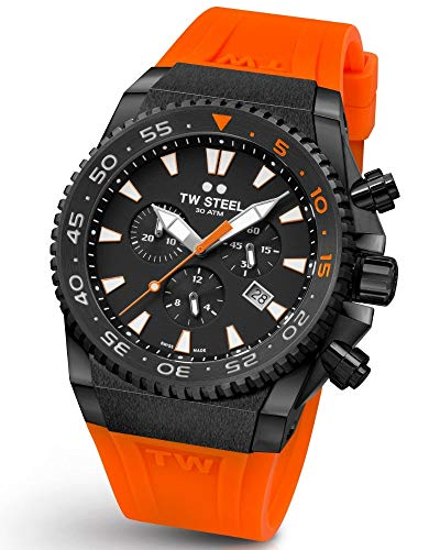 TW Steel ACE404 Diver Swiss Chronograaf Limited Edition horloge 44mm