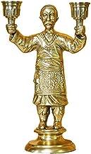 Candlestick Holders,Home Figure Candle Stand Decoration, Hotel Villa Golden Aluminum Candlestick, Creative Candelabras Dec...