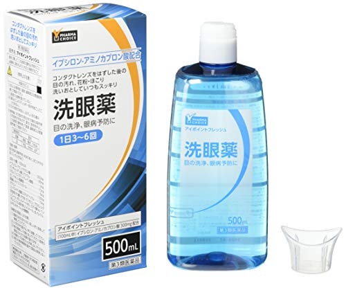 [Amazon限定ブランド][第3類医薬品]PHARMACHOICEアイポイントフレッシュ500ML