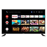 Skyworth 42S3G Inch Premium 1080P HD LED Television Quad-CORE Android TV Smart with Voice Control,...