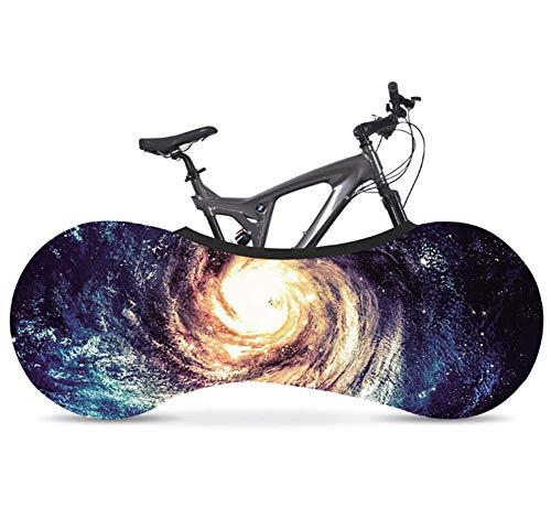Phil Beauty Funda Bicicleta Decorativas Cubierta De Polvo Elástica Serie Cielo Estrellado Jardín Balcón Garaje Exterior Lavable Elegante Y Duradero 26-28',B